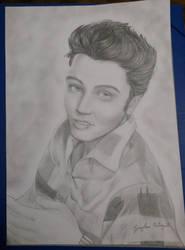 Elvis Presley by caylaortega