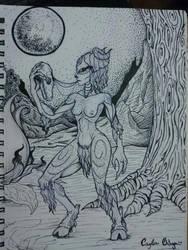 Demon by caylaortega