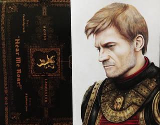 Ser Jaime Lannister by Gutter1333