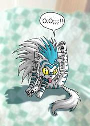 The Legendary Kitten by chibibecca