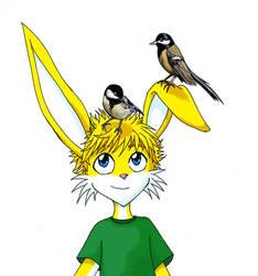 Bird head Toby by chibibecca