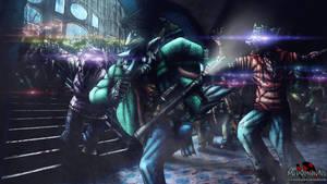 Night of the Cybernetic Dead by MetaDragonArt