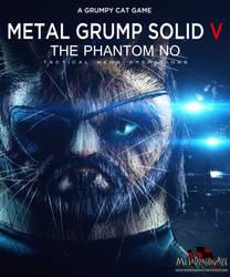 Metal Grump Solid V: The Phantom No by MetaDragonArt
