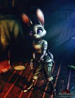 Zootopia X Resident Evil - Judy hopps by MetaDragonArt
