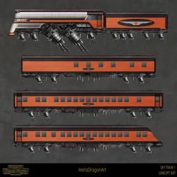Sky Train 1 - Project: Diesel Pirate by MetaDragonArt