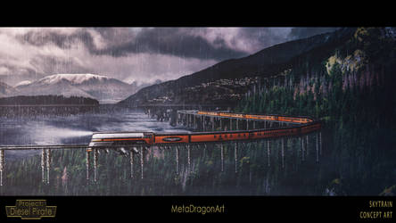 Skytrain - Project: Diesel Pirate by MetaDragonArt