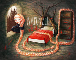 Rapunzel by HybridTea