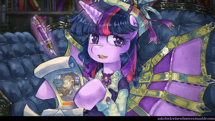 Twilight The Fanfic Writer by saturnspace