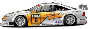 DTM Calibra - Keke Rosberg by scrface01