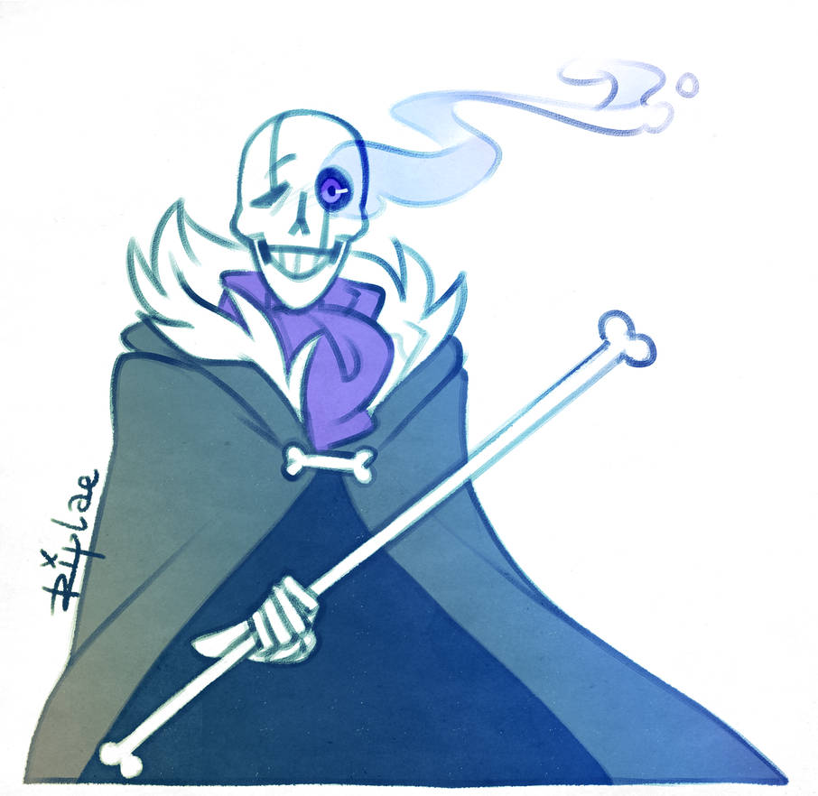 Gaster Sans Papyrus Fusion By Riplae On Deviantart