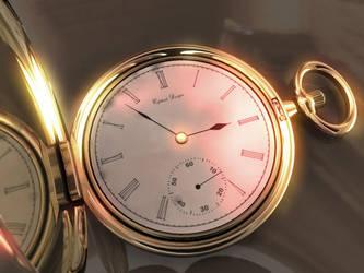 Pocket Watch by c3ph31d