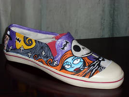 The Nightmare Before Christmas Shoes by rachelliles352