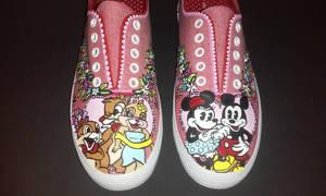 Disney custom Love shoes Mickey mouse by rachelliles352