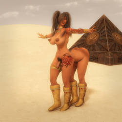 Humantaur Desert Treasure Hunter - Futa Ver. by ambient-avalancher