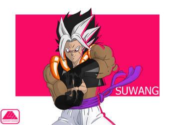 Suwang (Super Saiyan 4) by LegendaryAgwang