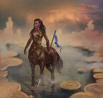 Centaur by Nafrin