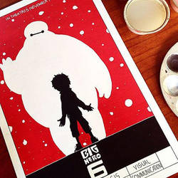 VC PLate: 'Emphasis by Contrast' Big Hero 6 by ArtisticShank