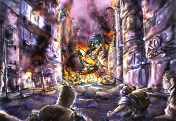 Re-attack by Kerokerorira