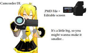 Camcorder DL by scarletrose101