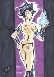 Evil Lynn by mitchatt