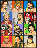 Classic WWF colors by mitchatt