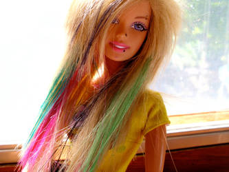 'Scene' barbie by apple-lover-lives