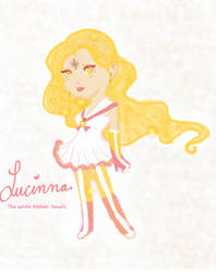 Lucinna the white matter senshi by goddess-of-the-moon1