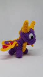 Spyro crochet by Ludaritz