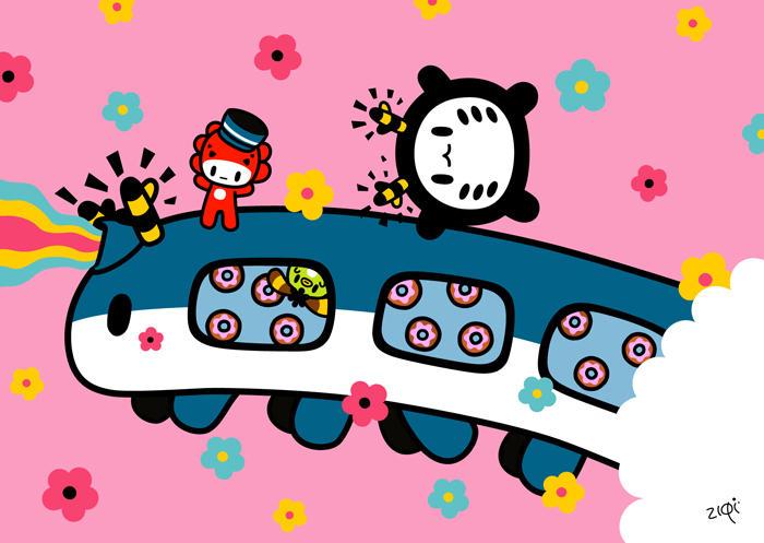 train train train.... by MonsterLittle