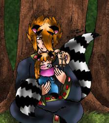 'Sleep well little sister' by littleraccoondemon