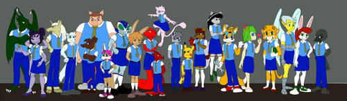 Claremont Academy: Meet the Class by lonewolf23k