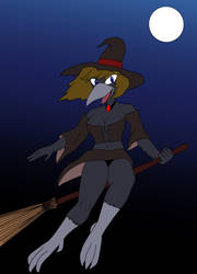 Belated Halloween Entry: Lucille's Ride by lonewolf23k