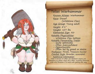 Telsei Warhammer by DracoInsanity