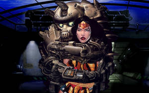Wonder Woman, Captured, by dgrart2013