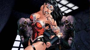 Wonder Woman. Caught. by dgrart2013