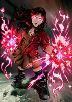Scarlet Witch by richyunspoken