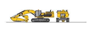 Cat 345 by nino39