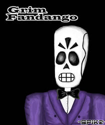Manny Calavera by Nickrous
