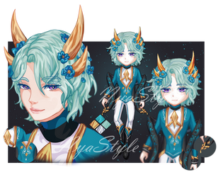 [CLOSED] Blue boy XI by NyaStyle