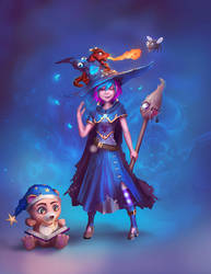 Little Witch by ArisT0te