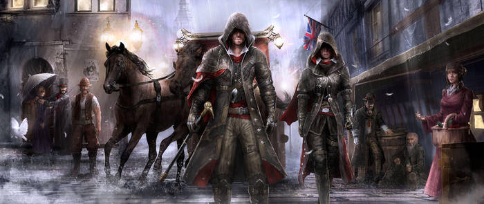 Assassin's creed syndicate by ArisT0te