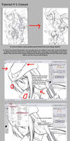 Tutorial Pt 1 - Lineart by akemi-shuu