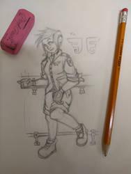 Sparrow by SecretSketchbook