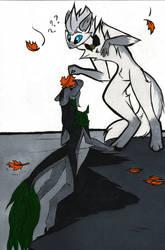 Flufftober -26 - Fall by iimokookie