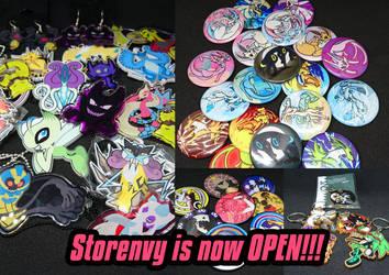 Storenvy is now OPEN!!! by iimokookie