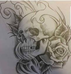 Skull by danSkie187