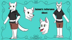 Jainus Reference! (request) by Eveleencat