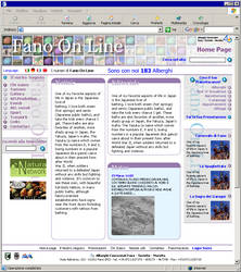 Fano on line portal design by saimon69