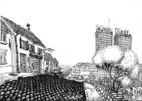 Asfalto III . malls and towns by saimon69