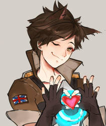Tracer Loves You guys by BJMAKI